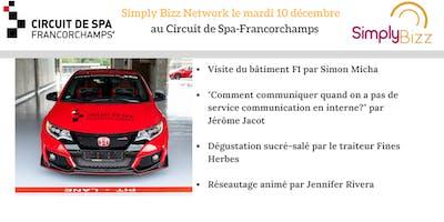 SimplyBizz Network le 10 décembre au Circuit de Spa-Francorchamps