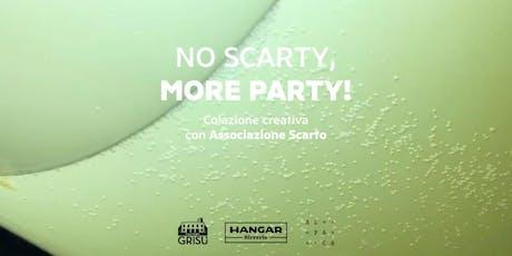 No scarty, more party! - A colazione con la creatività biglietti
