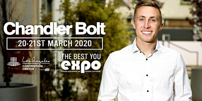 Chandler Bolt at The Best You EXPO 2020, Los Angeles
