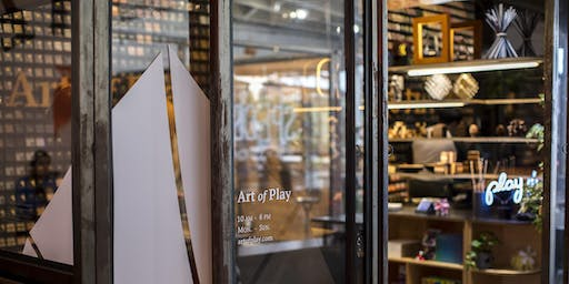 Art of Play Pop-Up Shop - Grand Opening