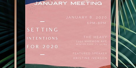 Monthly Meeting: Setting Intentions For 2020 tickets