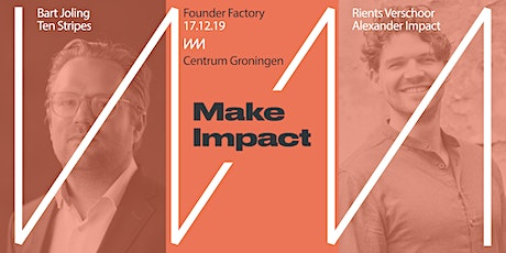 Founder Factory - Impact tickets