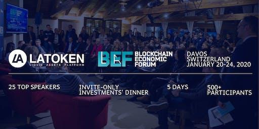 LATOKEN Blockchain Economic Forum in Davos, Switzerland