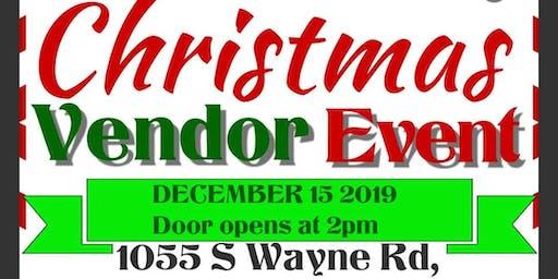 Christmas Vendor Event
