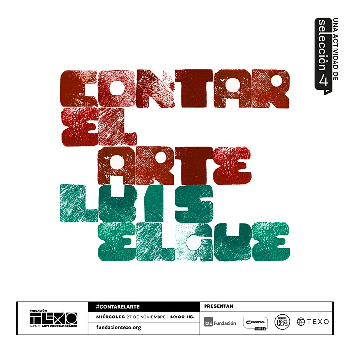 Imagen de #ContarElArte con Luis Elgue