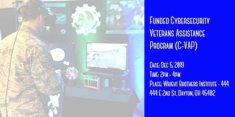 Funded Cybersecurity Veterans Assistance Program (C-VAP) Collider tickets