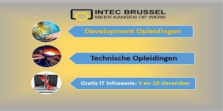Infosessie INTEC BRUSSEL Bijeenkomst of netwerk biglietti