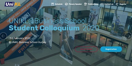 UNIKL Business School Student Colloquium 2020 tickets