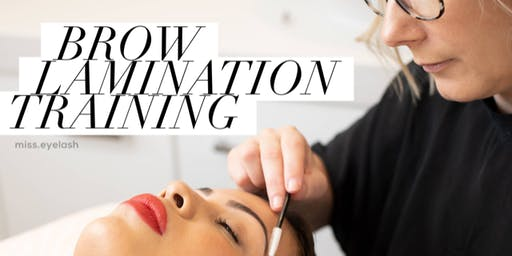 BROW LAMINATION -  The Next Level Brow Treatment