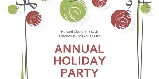 Harvard Club of the UAE Annual Holiday Party