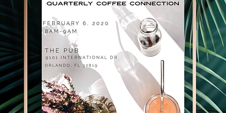 Quarterly Coffee Connection tickets