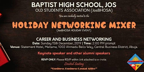 JosBHOSA Networking Mixer Event tickets