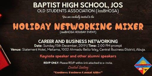 JosBHOSA Networking Mixer Event