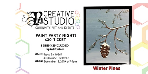 Be Creative Studios-Winter Pines