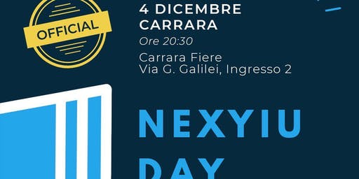 NEXYIU DAY CARRARA OFFICIAL