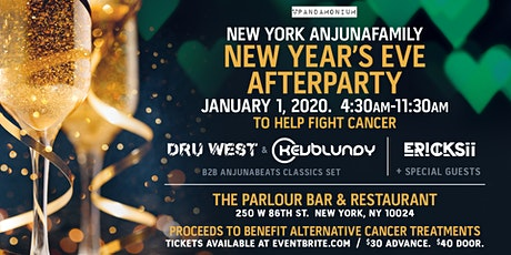 New York Anjunafamily NYE Afterparty Benefit tickets
