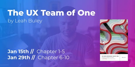 The UX Team of One (Part 1/2) // CPHUX Book Club tickets