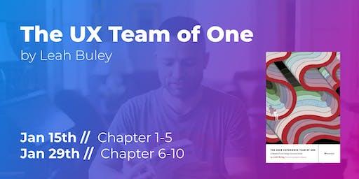 The UX Team of One (Part 1/2) // CPHUX Book Club