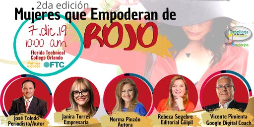 Mujeres Que Empoderan de Rojo