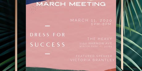 Monthly Meeting: Dress For Success tickets
