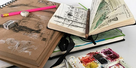'Working with Sketchbooks' 1-day workshop with Robert E Wells NEAC RBA tickets