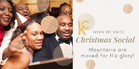 KC Community Christmas Social tickets