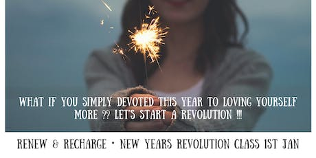 New YEARS Revolut-Yin! Detox With A Difference! tickets