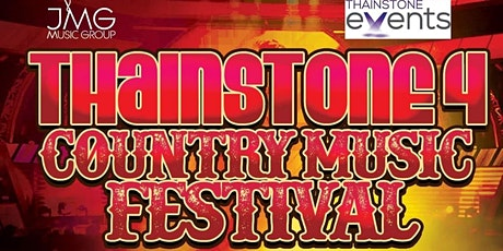 Thainstone Country Music Festival 4 tickets