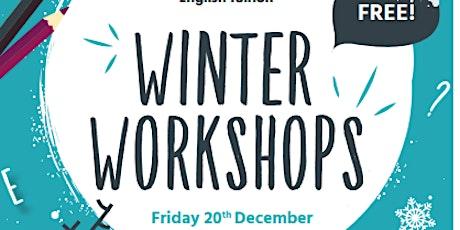 Free winter workshops for children 4-11 tickets