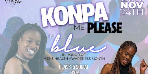 Konpa Me Please in BLUE