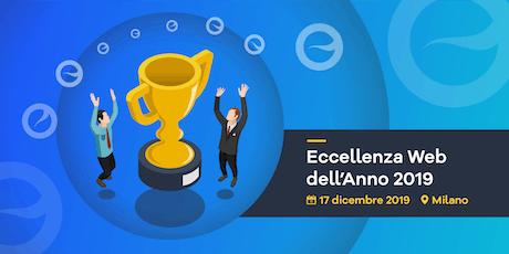Eccellenza Web  2019 biglietti