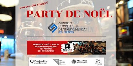 Party de Noël de la Chambre de commerce ! billets