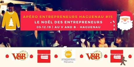 Apéro Entrepreneurs Haguenau #15 – Le Noël des entrepreneurs billets