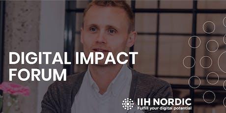 Digital Impact Forum #7 April 30 2020 biljetter