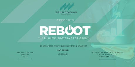 Reboot! - The Growth Program for Entrepreneurs tickets