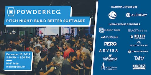 Pitch Night: Build Better Software