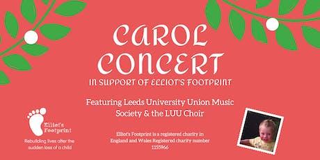 Carol Concert  for Elliot's Footprint tickets