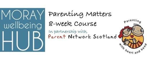 Parenting Matters (BUCKIE). FREE 8-week self-confidence peer-led workshop. Starts Monday 27th January 2020, Phoenix Centre, Buckie