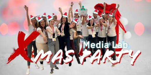 Media Lab Startup-Xmas Party