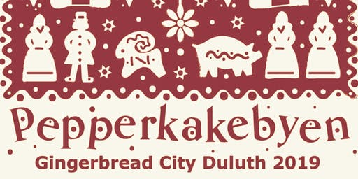 PEPPERKAKEBYEN – GINGERBREAD CITY