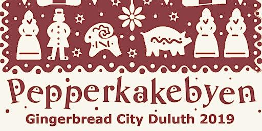 PEPPERKAKEBYEN – GINGERBREAD CITY