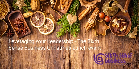 Copy of Leveraging Leadership in your SME - Sixth Sense Christmas Lunch tickets