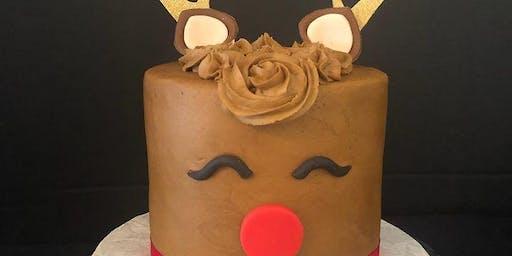 Mini Reindeer Cake Class