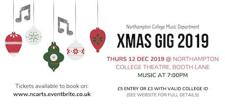 Northampton College XMAS Music Gig 2019 tickets