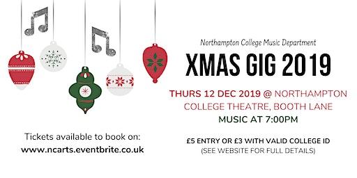 Northampton College XMAS Music Gig 2019