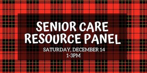 Senior Care Resource Panel