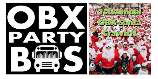 1st Annual OBX Santa Crawl on the OBX Party Bus