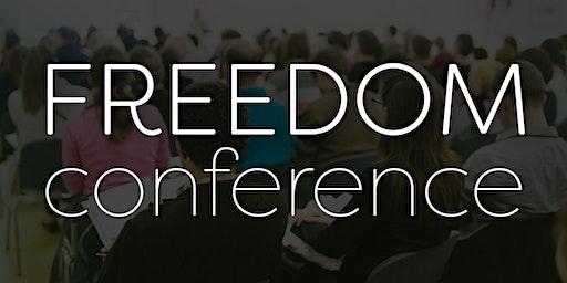 Freedom Conference November 2020  - Charlotte or Online-Live