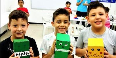 Curso Vacacional Pereira (Construye un Robot Tortuga)