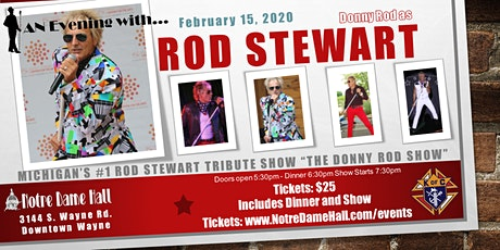 "An Evening With Rod Stewart ""The Donny Rod Show"" tickets"